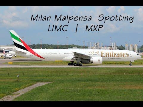 Planespotting at Milan Malpensa Airport MXP | LIMC [with ATC]