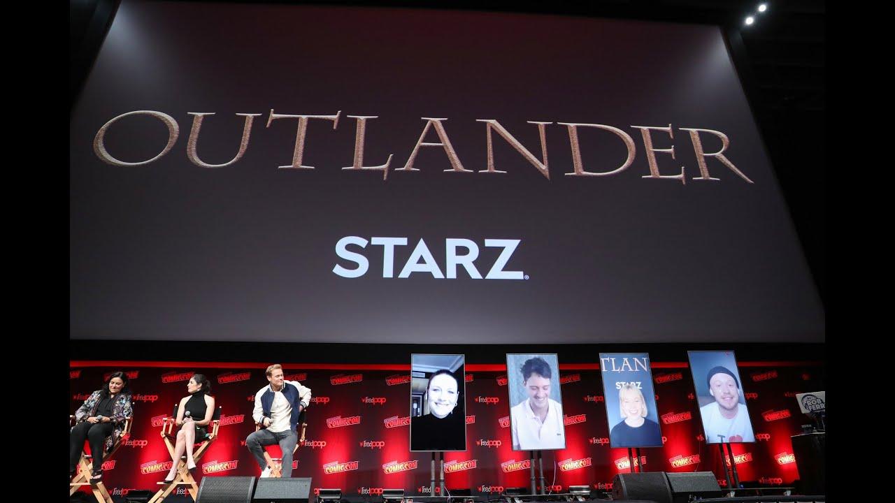 Download Outlander @ NYCC 2021 - Sam Heughan, Caitriona Balfe - Season 6
