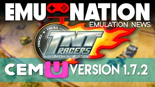 EMU-NATION: Wii-U Emulator Playing TNT Racers - Nitro Machine Edition!