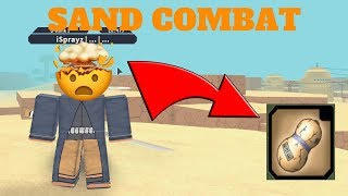 NRPG: BEYOND| HOW TO GET SAND COMBAT!!! [ROBLOX]