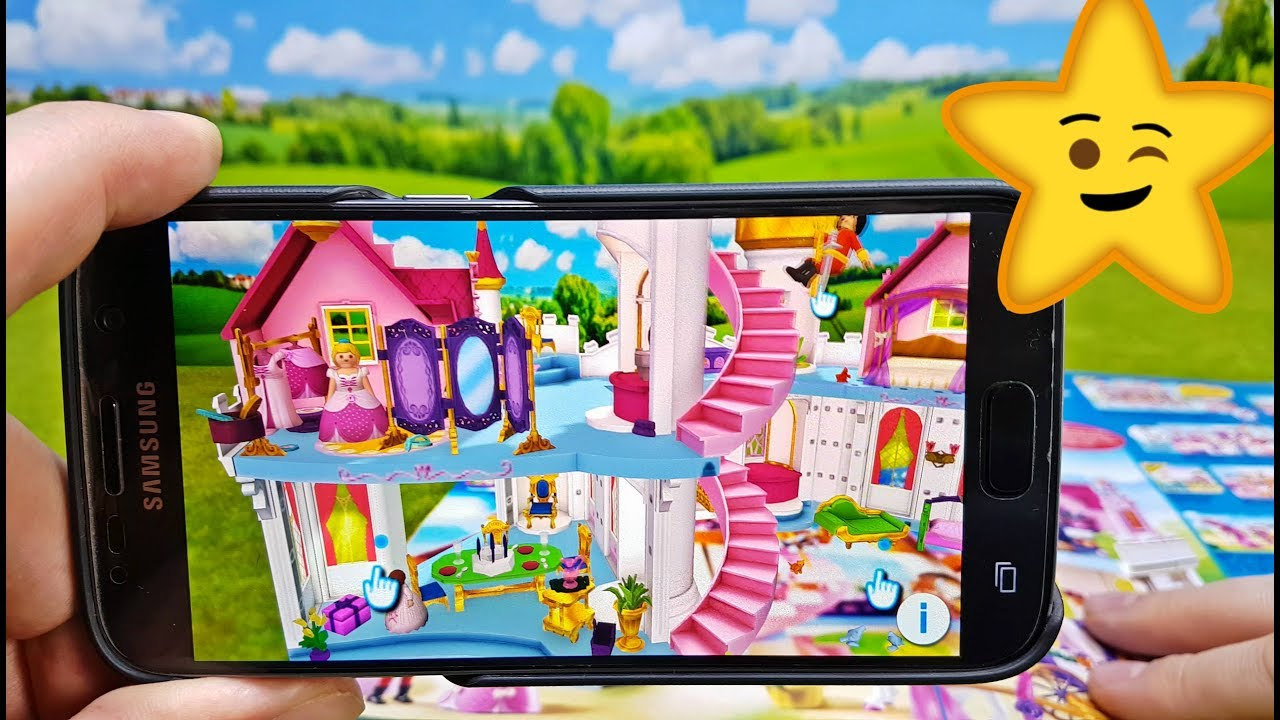 Playmobil augmented reality app demonstration 🎀 mädchen