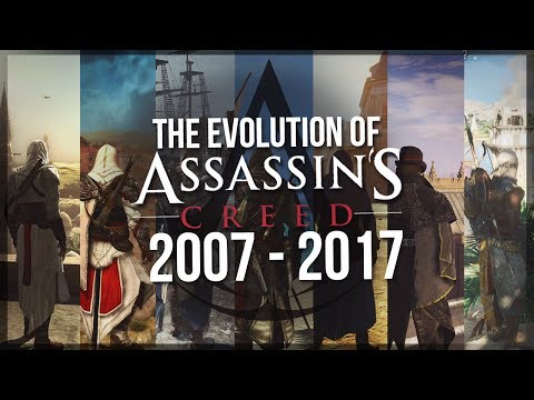 The Evolution of Assassin's Creed 2007 - 2017 | GRAPHICS & GAMEPLAY -  10 Years of Assassin's Creed