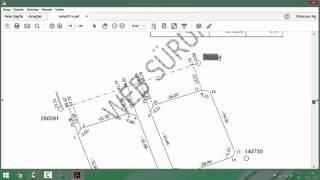 Netcad Dersleri 1 (Kutupsal ve Ortogonal Koordinatlarla Hesap ve Çizim)