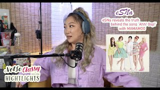 """""""eSNa (에스나), 'Ahh! Oop!', MAMAMOO (마마무). What really happened."""" 