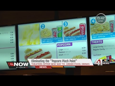 The Now KC: AMC Offers New Way To Order Concessions
