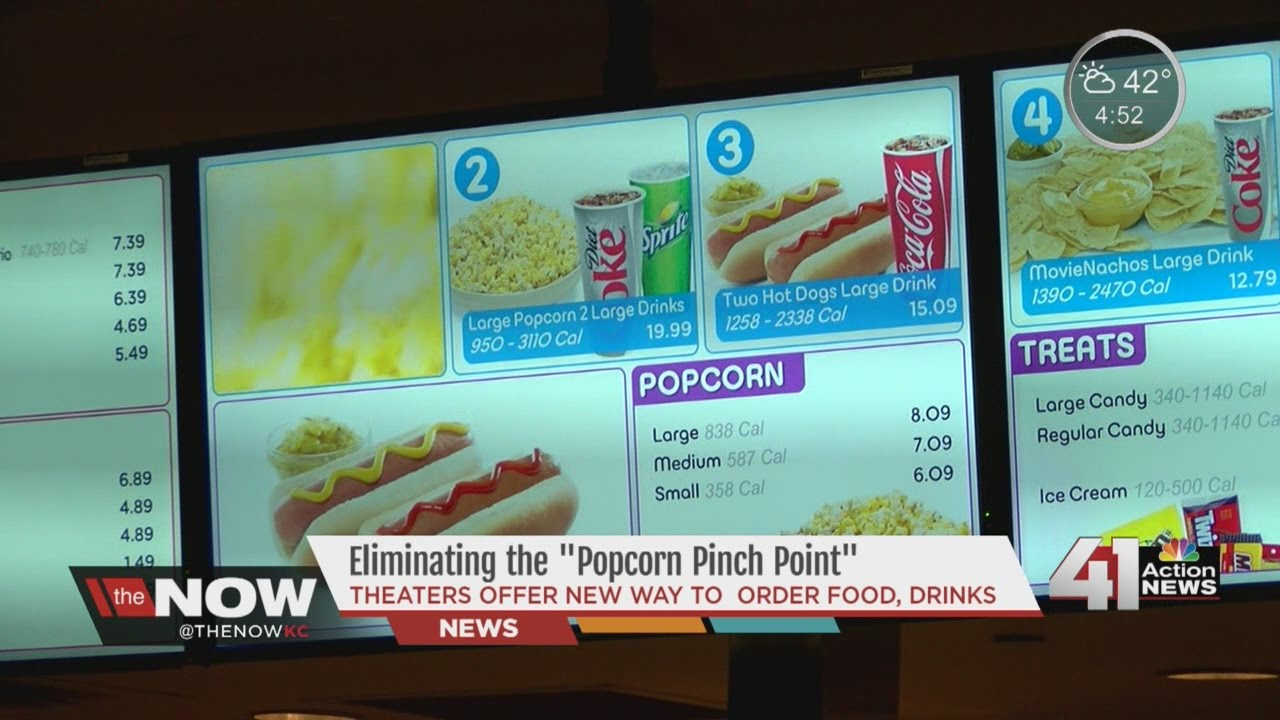 The Now KC AMC Offers New Way To Order Concessions