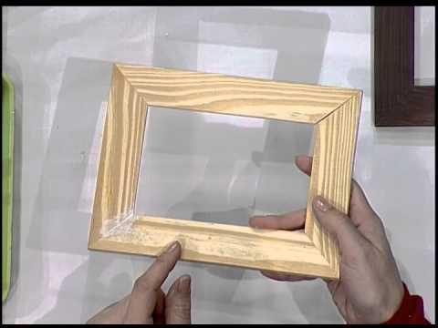 p tina em madeira porta retrato youtube. Black Bedroom Furniture Sets. Home Design Ideas