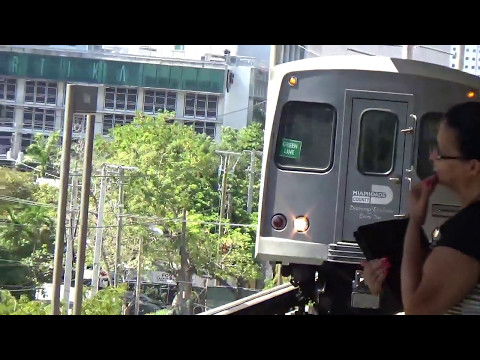 Mani-Pedi then Walk & Train to Dadeland Mall