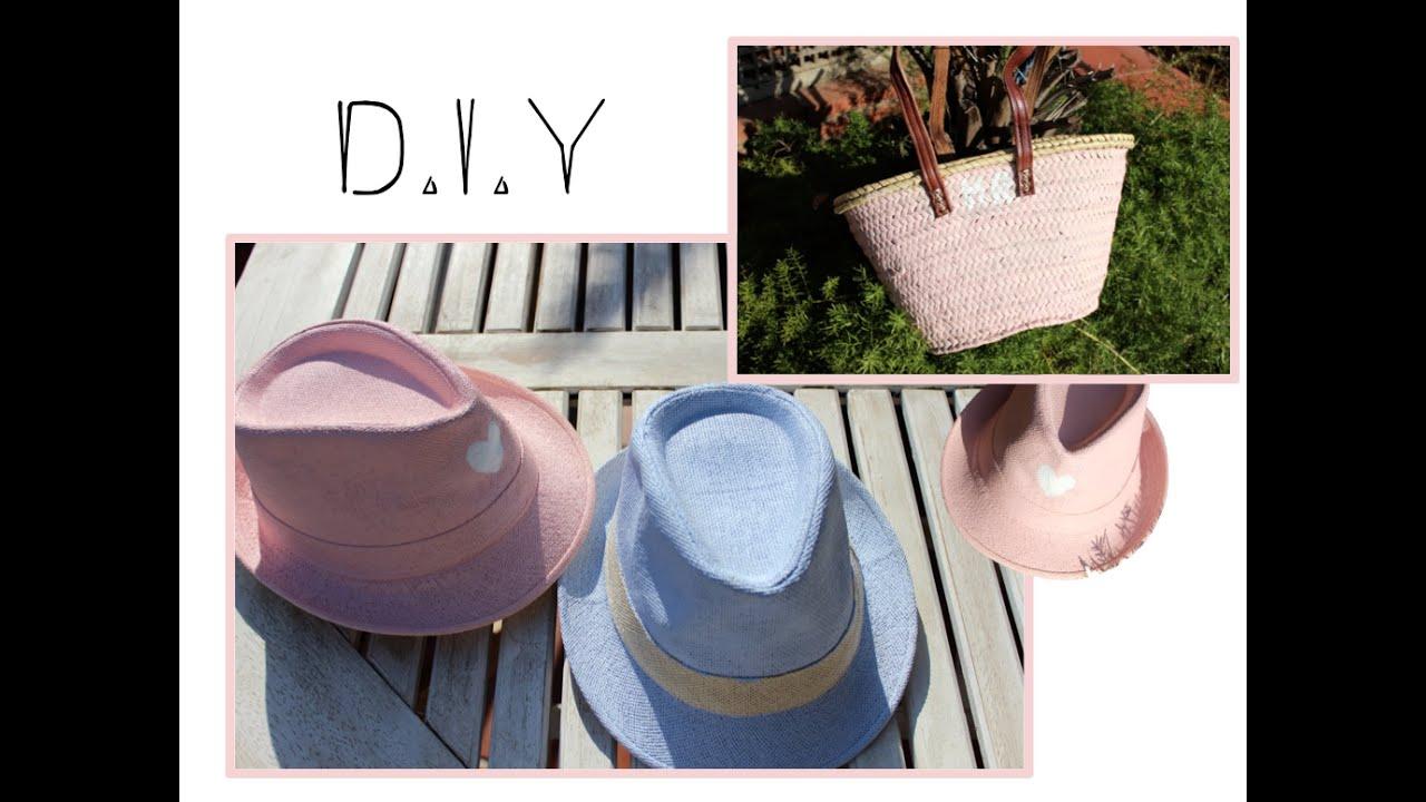 D.I.Y- Customiza tus sombreros y capazos - YouTube ca1d0cf7c2c