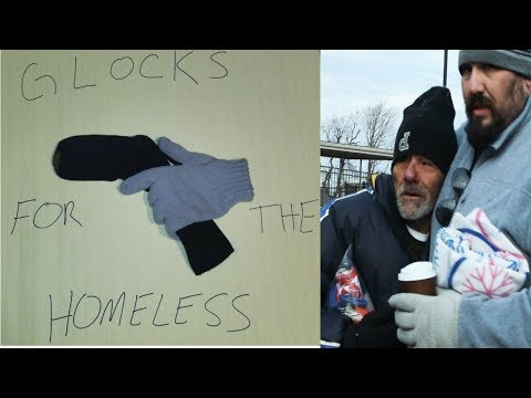 Glocks For The Homeless - Tulsa OK - Grass roots charity group