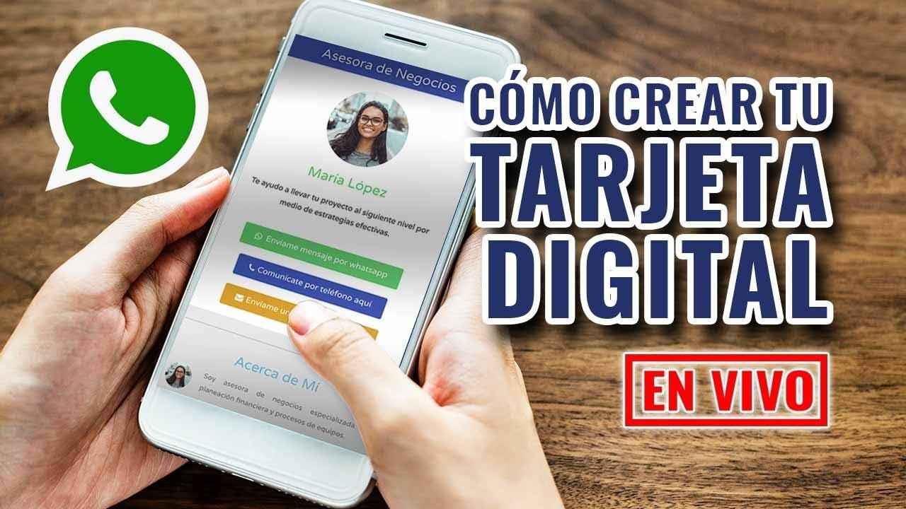Cómo Crear Una Tarjeta Digital Para Negocios Paso A Paso