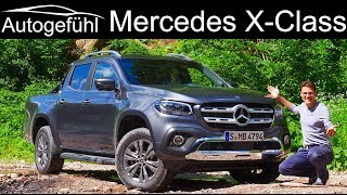 Mercedes X-Class V6 FULL REVIEW XClass X-Klasse new big Diesel - Autogefühl