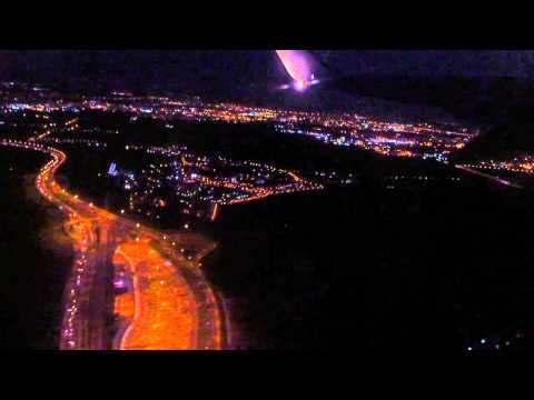 Ночной полёт над Тель-Авивом