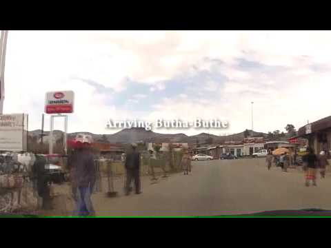 Driving in Lesotho - Caledonspoort to Butha-Buthe