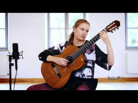12 estudios para guitarra de Heitor Villa-Lobos