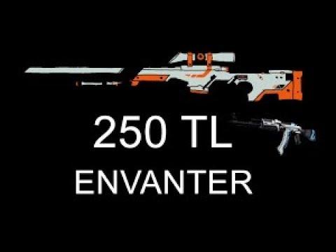 CS GO 200-250 TL ye YENİ NESİL ENVANTER dizme 2017