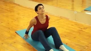 Комплекс 30 минут на полу. Эстетическая гимнастика с Галиной.