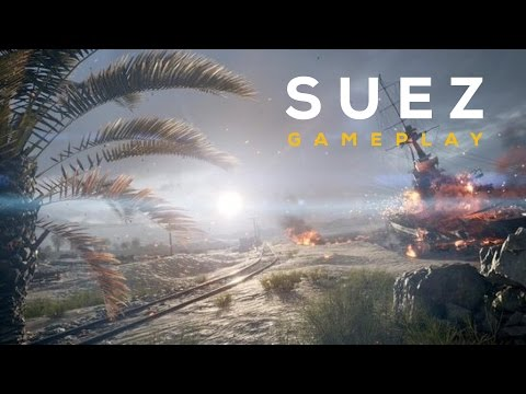 ►  BATTLEFIELD 1 - Suez Map (Multiplayer) 20 MIN GAMEPLAY!