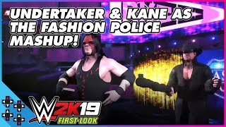 WWE 2K19: THE BROTHERS OF DESTRUCTION enter as THE FASHION POLICE!