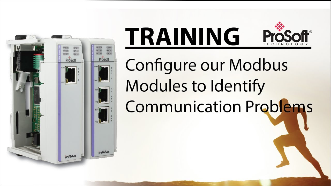 Configure our Modbus modules to identify communication problems