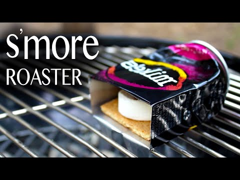 how-to-make-a-s'mores-roaster!