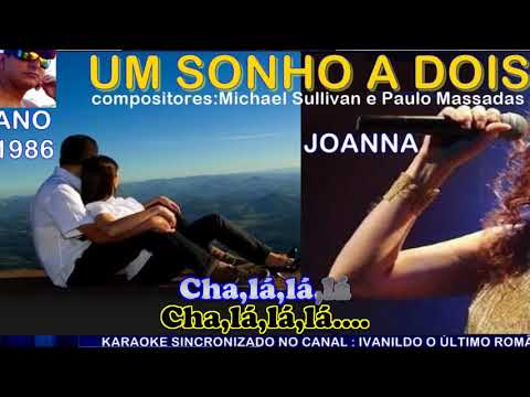 Um Sonho a Dois - Joanna  - karaoke