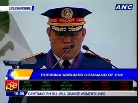 Purisima assumes command of PNP
