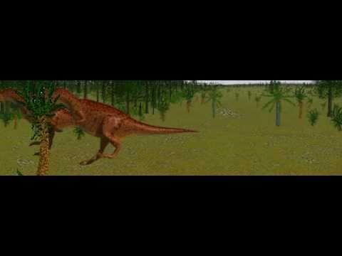 Dinosaur Safari (Late Jurassic) Clip #14: Allosaurus