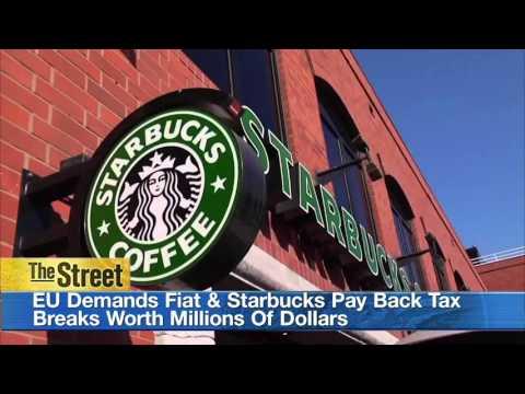EU Demands Fiat & Starbucks Pay Back Tax Breaks Worth Millions