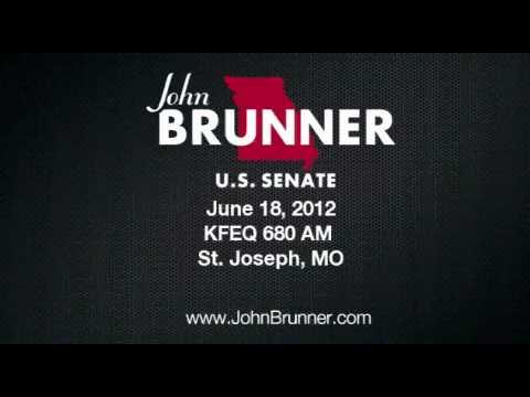John Brunner on KFEQ 680 AM in St. Joseph Missouri