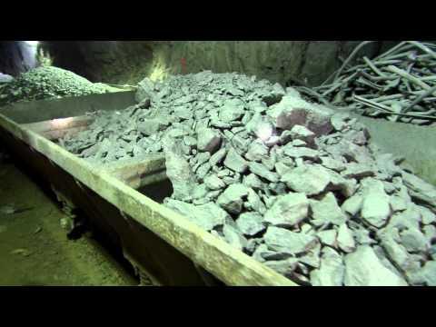 Zinc Mining - Rail Dump Car - Mining Process