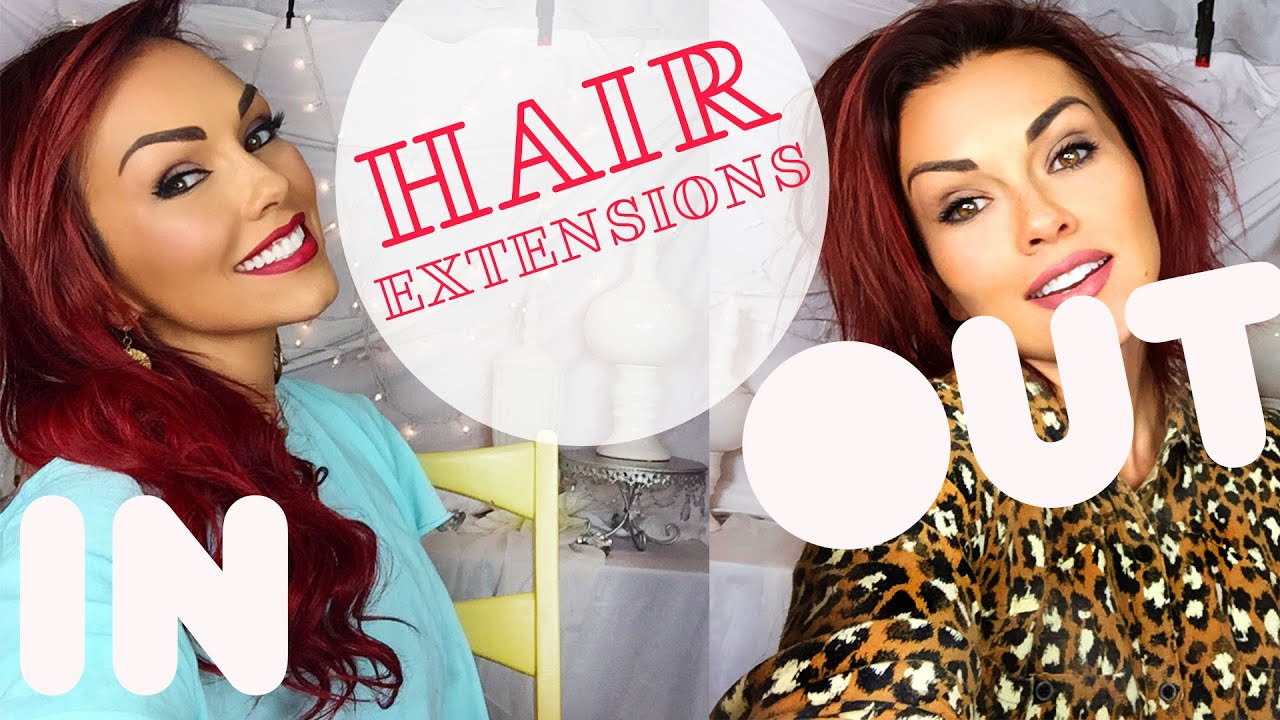Taking my hair extensions out extension review youtube pmusecretfo Image collections