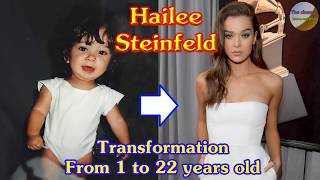 Hailee Steinfeld transformation from 1 to 22 years old