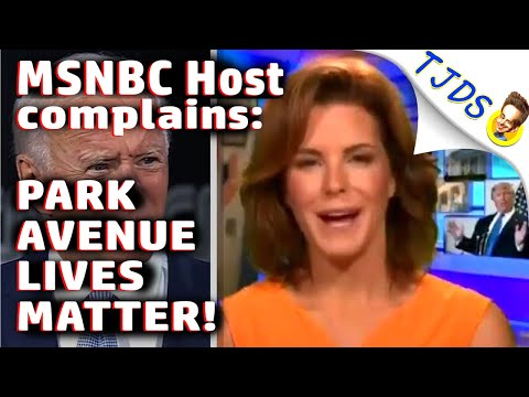 MSNBC Host complains: Park Avenue LIVES MATTER!