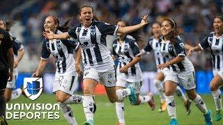 América, Pachuca, Tigres y Monterrey lideran la clasificación en la liga MX Femenil