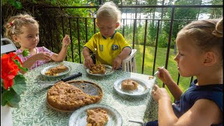 У СВЕКРОВИ ТЯЖЕЛО что ели мои дети веганы на каникулах в Швеции