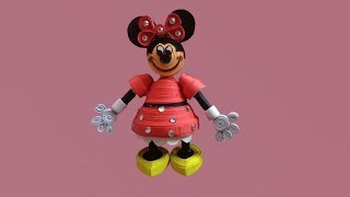 Paper quilling : How to make 3D Disney
