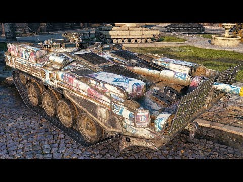 Strv 103B - DAMAGE FARM - WoT Gameplay