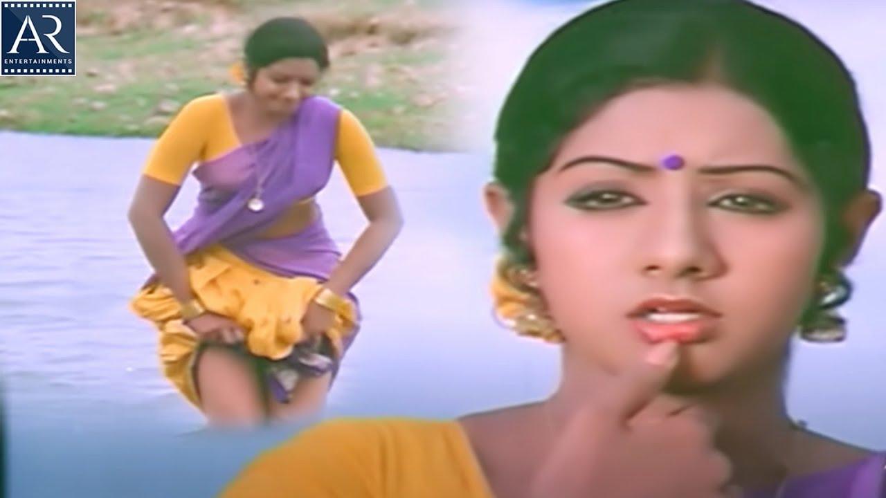 Download Padaharella Vayasu Movie Scenes | Sridevi with Doctor at River | AR Entertainments