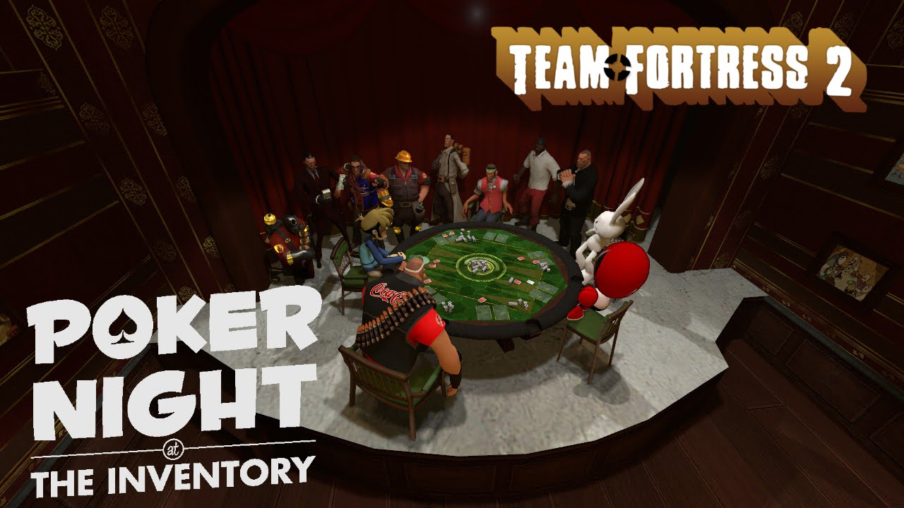 Poker night at the inventory items tf2