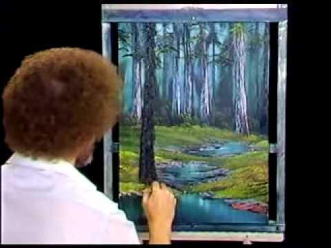 bob-ross---malerei-abgelegenen-wald---malerei-video