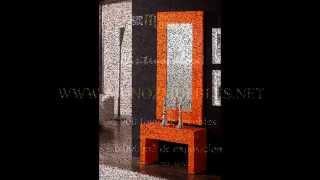 Gambar cover muebles auxiliares de recibidor con espejos