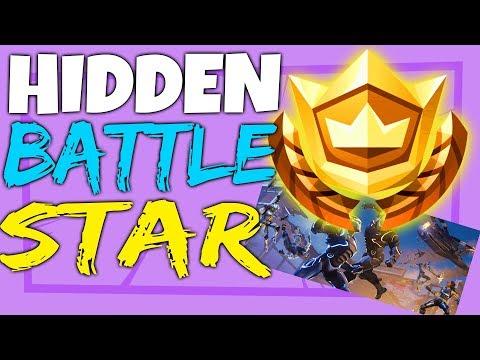 Fortnite SECRET HIDDEN BATTLE STAR LOCATION Week 5 - Blockbuster Challenges Season 4