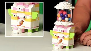Build Your Own LEGO Gum Ball Machine | Brick X Brick