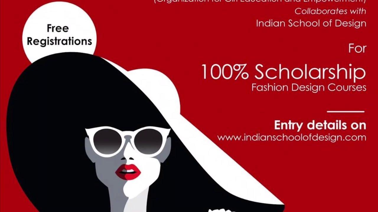 Pinaki Scholarship With Indian School Of Design Youtube