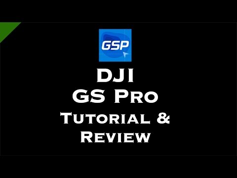 DJI GS Pro Tutorial & Review