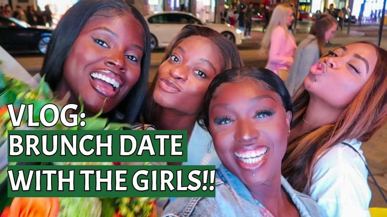BRUNCH/DINNER DATE WITH THE GIRLS + ADULT CONVOS ABOUT S*X, JAMAICAN MEN, LIVING LIFE & MORE   VLOG