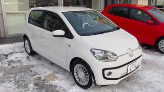 2012 Volkswagen Up! (high up!) Exterior & Interior