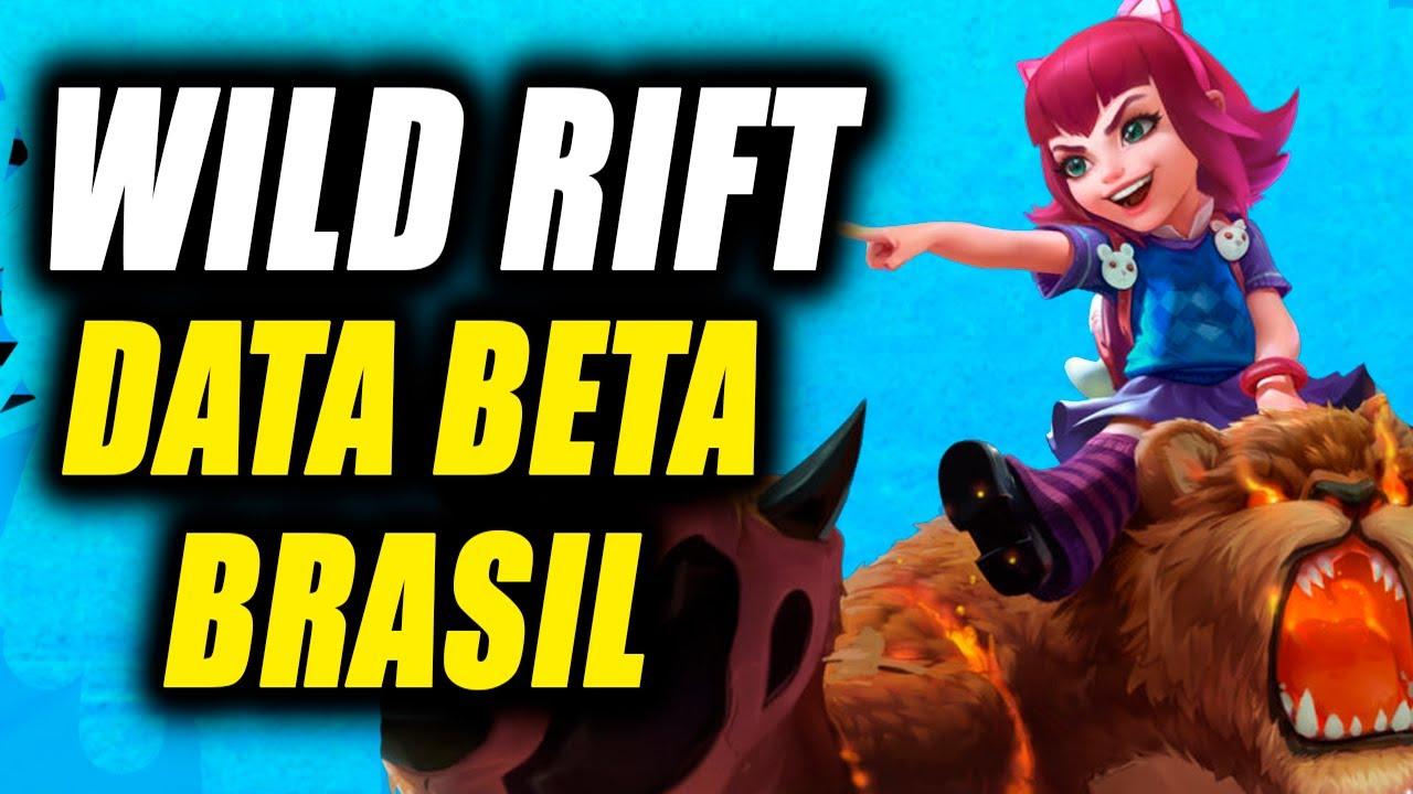 DATA LANÇAMENTO BETA WILD RIFT BRASIL — LOL MOBILE NOVIDADES