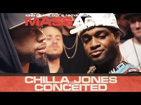 KOTD - Rap Battle - Chilla Jones vs Conceited   #MASSacre